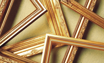 $35  for $100  Worth of Custom Framing at FrameStore