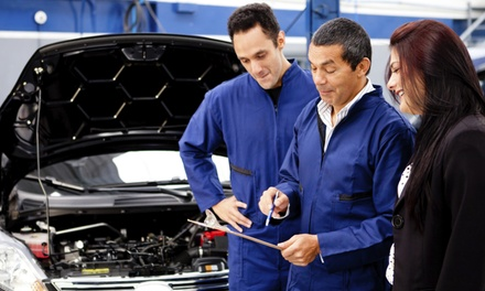 One or Three Oil Changes and 27-Point Inspections at A1 Luxury Motors (Up to 70% Off)