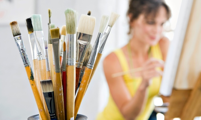 Pinot's Palette - Seven Springs: Two- or Three-Hour BYOB Painting Class for One at Pinot's Palette (Up to 49% Off)