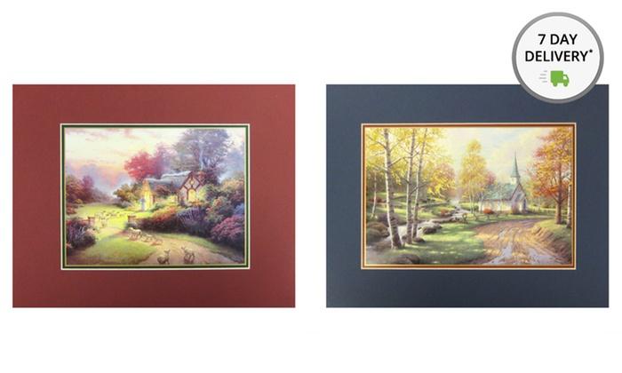 Thomas Kinkade Print Bundle: Thomas Kinkade Print Bundle from $19.99 to $29.99. Multiple Bundles Available. Free Returns.