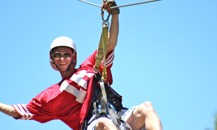 Action Zipline, Inc. - Big Bear:  $99 for a Three-Hour Zipline Tour and Flash Drive at Action Zipline Tours ($165 Value)