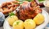 Schweinshaxen-Menü