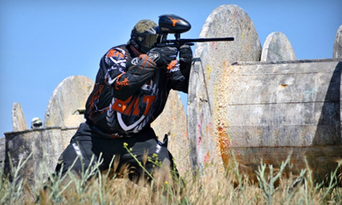 Extreme Paintball - Stockton: $19 for a Full-Day Paintball Outing with Six Hours of Play and Gear from Extreme Paintball in Modesto ($45 Value)
