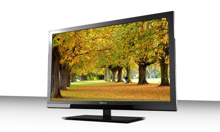 "Toshiba 32"" 720p LED HDTV with NetTV: Toshiba 32"" 720p LED HDTV with NetTV (32SL415U). Free Shipping and Returns."