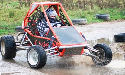 image for 12-Month Hovercraft and Rage Buggy Racing Gift Card for One or Two from Out-Doors and Dirty (61% Off)