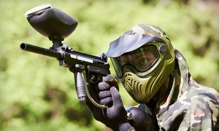 Midway Paintball Facility - Vacaville: All-Day Paintball Outing for One, Two, or Four at Midway Paintball Facility in Vacaville (Up to 51% Off)