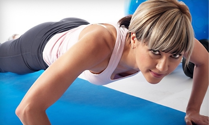 Fit2Live - Roosevelt: Four-Week Women's Fitness Challenge, Month of CrossFit Classes, or Four-Week Beach Body Boot Camp at Fit2Live (70% Off)