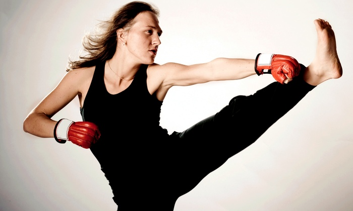 Tactical Kung Fu and MMA - Durham: One Month of Unlimited Cardio Kickboxing with Personal Training for 1 or 2 at Tactical Kung Fu and MMA (Up to 66% Off)