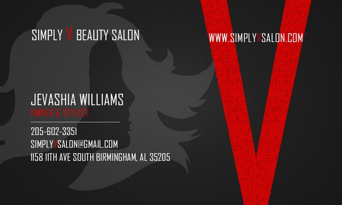 Simply V Beauty Salon - Five Points South: Up to 57% Off Haircut and Highlight Services at Simply V Beauty Salon