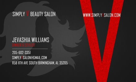 Up to 57% Off Haircut and Highlight Services at Simply V Beauty Salon