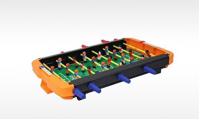 For a table top big foosball table for 12 in 1 game table groupon
