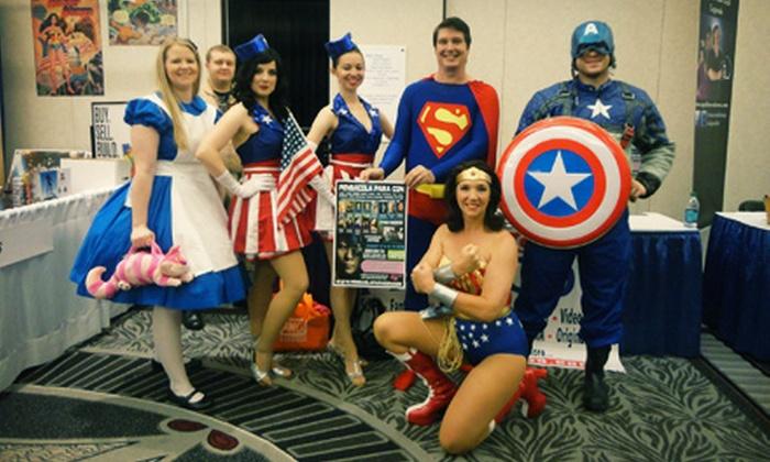Pensacola Para Con - Pensacola Comic Convention: Day, Weekend, or Masquerade-Ball Passes for Two at Pensacola Para Con (Up to Half Off)