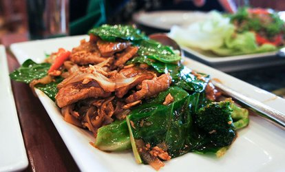 image for Two Course Thai Meal for Two at Simply Thai (40% Off)