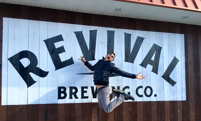 Revival Brewing Company - Revival Brewing Company: Brewery Package with Tastings and Pint Glasses for Two, Four, or Six at Revival Brewing Company (Up to 44% Off)