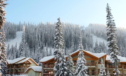 Stay with Underground Parking at Pinnacle Lodge in Sun Peaks, BC; Dates into April