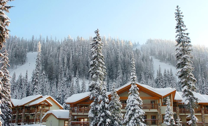 Mountain Lodge in British Columbia