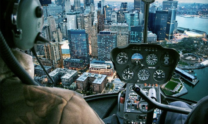 PegasusFlight.Com - Linden: $429 for a 30-Minute Helicopter Tour of New York at Night for Up to Three from PegasusFlight.com ($859 Value)