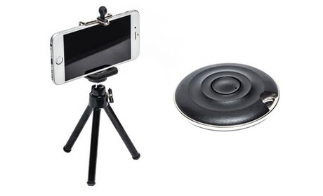 Pur Selfie Remote with Adjustable Tripod