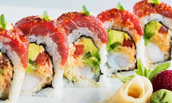 SAIA - Central Beach: $40 for $75 Worth of Sushi and Asian Cuisine for Two at SAIA