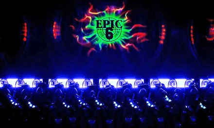 $17 for Attraction Sampler Package at Epic 6 Laser Tag & Sports Arena ($34 Value)