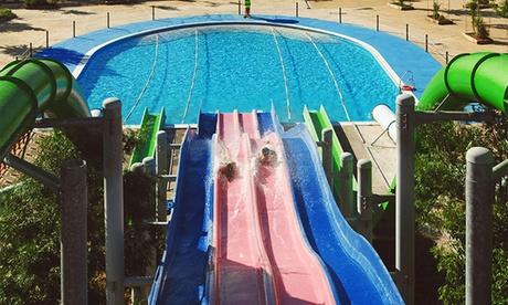 Entrada al parque acuático Aqua Badajoz para 1, 2, 4, 6 u 8 personas desde 12 €