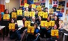 Art Plus Studio - Multiple Locations: Tuesday- or Wednesday-Night Painting Class at Local Bar for One or Two from Art Plus Studio (Up to 57% Off)