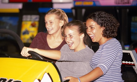 Up to 50% Off One Hour Game Cards at Power Play Zone