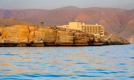 Oman: 1 or 2 Nights for Two Adults at 4* Atana Hotel Khasab