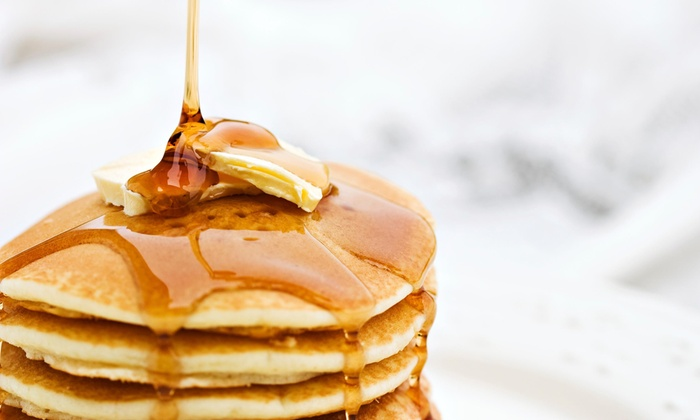 Leggos - Holbrook: Unlimited Pancakes And Eggs Special For $7 at Leggos