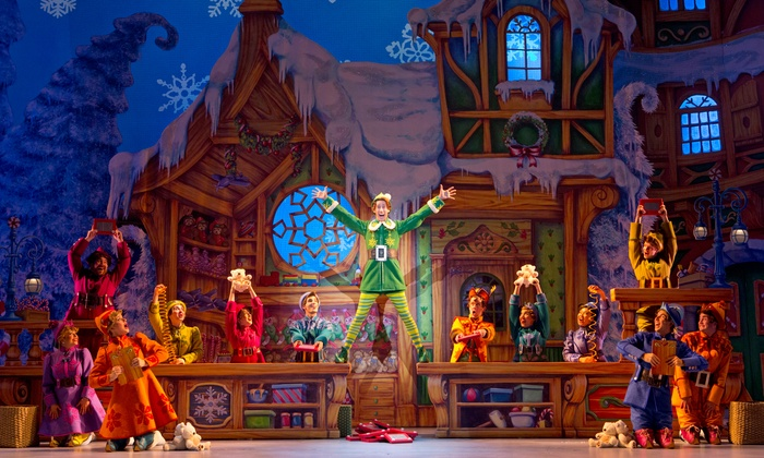 """Elf"" - RUTH ECKERD HALL: ""Elf"" at Ruth Eckerd Hall on November 12 or 13 (Up to Half Off)"