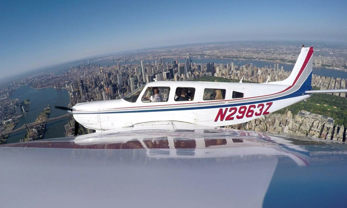 Passion Airplane Tour, Inc. - Linden: 45-Minute Flying Tour for One or Four from Passion Airplane Tour, Inc. (Up to 50% Off)