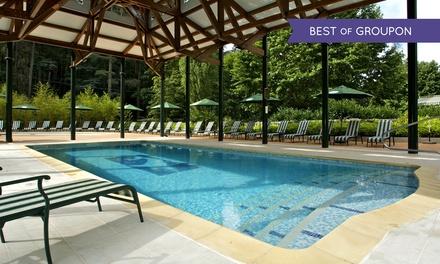 Ardèche : 1 à 3 nuits avec petit déjeuner, champagne, accès piscine et dîner en option au Grand Hôtel des Bains pour 2