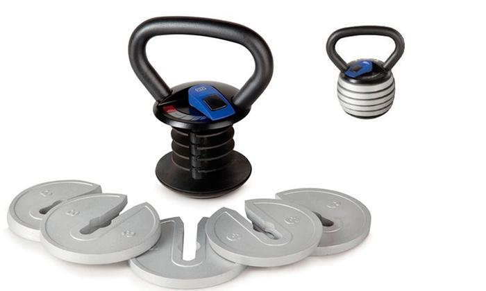Reebok Adjustable Kettlebell: Reebok Adjustable Kettlebell. Free Returns.