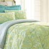 6-Piece Reversible Comforter Sets with Coverlets