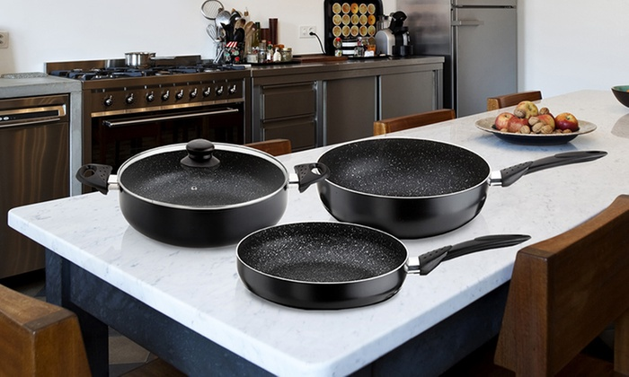 Stonechef Stone Coated Cookware Groupon Goods