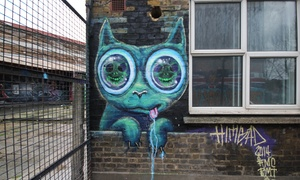Global Street Art: London Graffiti Tour for One (£10) or Two (£19) with Camden Street Art (Up to 37% Off)