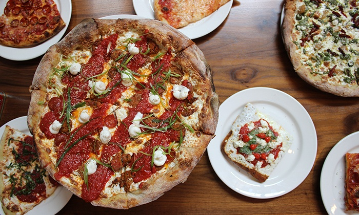 Slice House - South Beach: Pizza and Italian Food for Two or Four at Slice House (Up to 51% Off)