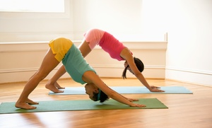 Premier Yoga Studio: $38 for $75 Worth of Services at Premier Yoga Studio