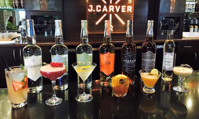 J. Carver Distillery - J. Carver Distillery: Distillery Tour and Tasting Flight for Four at J. Carver Distillery (45% Off)
