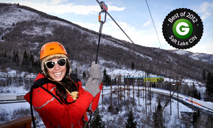 Utah Olympic Park - Park City: $19 for a Winter Adventure Course at Utah Olympic Park ($39 Value)