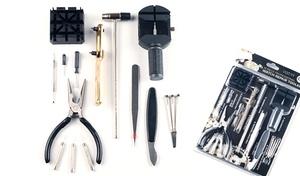 Stalwart Deluxe Watch-Repair Tool Kit (16-Piece)