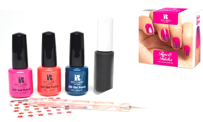 Red carpet gel manicure kits groupon red carpet gel manicure kits red carpet gel manicure pro 45 kit with optional add solutioingenieria Images