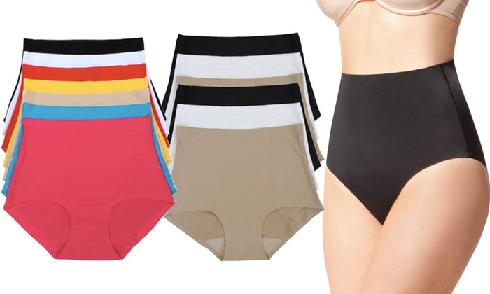 High-Waisted Tummy-Control Panties (6-Pack): High-Waisted Tummy-Control Panties (6-Pack)