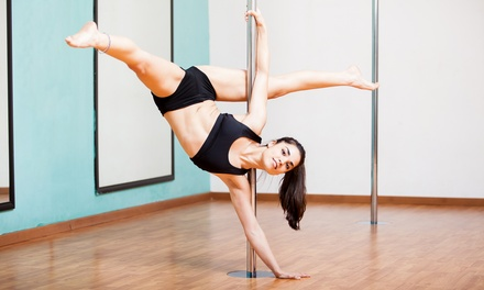 One or Three Pole Dance Fitness Classes at Vertical Trix (Up to 60% Off)