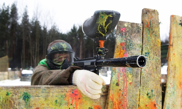 Capture the Flag - Calgary: Paintball with Lunch and Equipment Rental for Two, Four, or Six at Capture the Flag (Up to 50% Off)