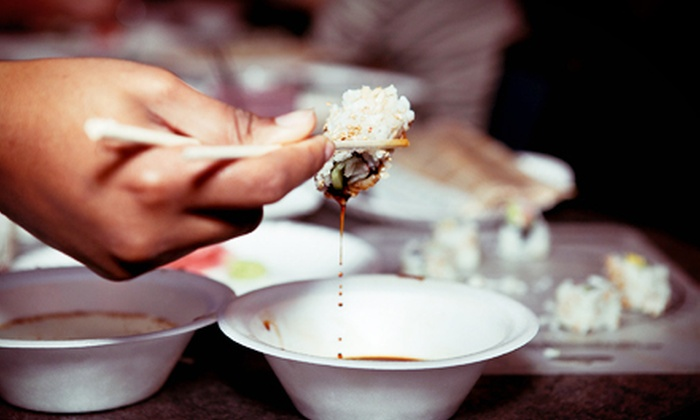 I Wish Lessons - LoDo: Just Roll It Sushi-Making Class for One, Two, or Four from I Wish Lessons (Up to 60% Off)