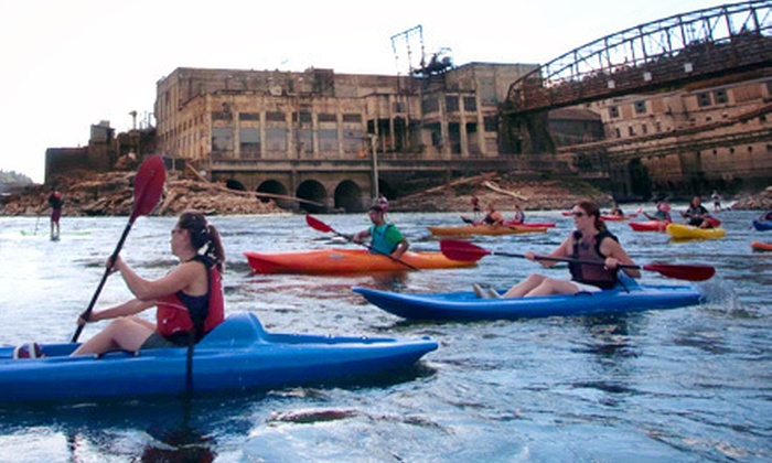 Northwest River Guides - Oregon City: 90-Minute Willamette Falls Kayak Tour for Two, Four, or Six from Northwest River Guides (51% Off)