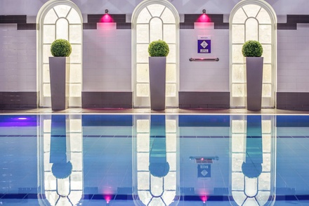 Spa Day Pass and Afternoon Tea or Lunch with Optional Drink for Two at Mercure Southgate Hotel