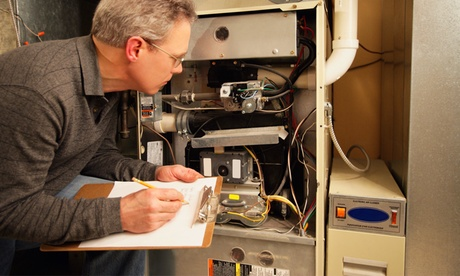 Furnace Tune-Up and Cleaning or Water Heater Flushing and Refill from Goodfella's Heating and Cooling (58% Off)