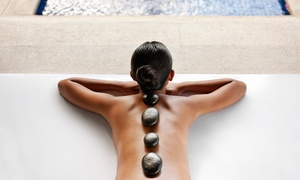 Sauna Gidwi: Een volledige dag sauna met hotstone massage aan € 32 bij Sauna Gidwi
